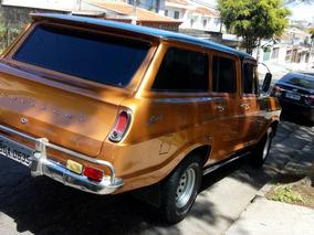 Chevrolet/gm Veraneio De Luxo Raro Estado 6 Cil Aceito Troca