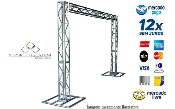 Kit Box Trus Q15 2,5 Alt X 3 Compri - Suportes Iguatemi
