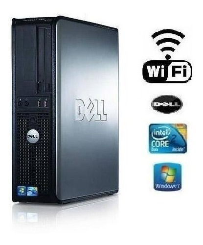 Dell 760 Optiplex 2 Gb Hd 500 Gb + Wifi