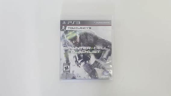 Tom Clancys Splinter Cell Blacklist - Ps3 - Original