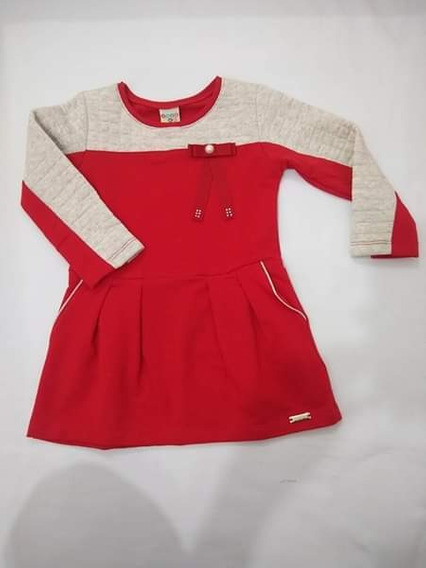 Vestido Vermelho Have Fun Tamanho 2
