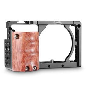 Smallrig Cage + Handgrip De Madeira Sony A6300/a6000 Pegada