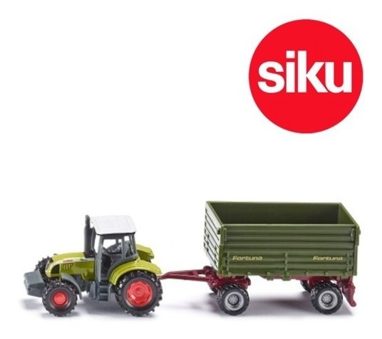 Tractor Claas Con Trailer - Siku Super 16