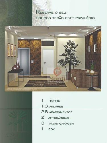 Apartamento Com 3 Dormitórios À Venda, 141 M² Por R$ 620.000,00 - Centro - São Joaquim Da Barra/sp - Ap3410
