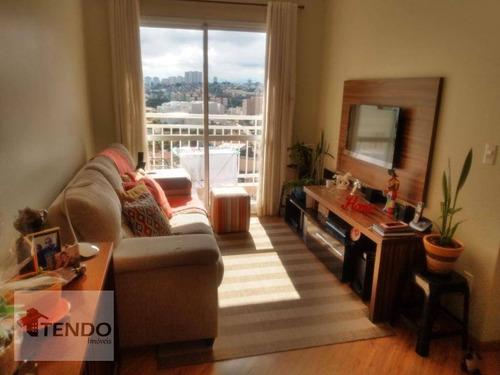 Imagem 1 de 27 de Imob01 - Apartamento 60 M² - Venda - 2 Dormitórios - 1 Suíte - Vila Valparaíso - Santo André/sp - Ap2231