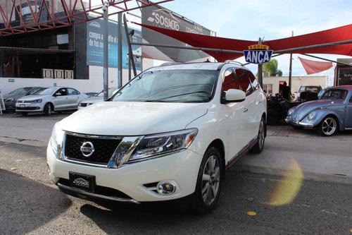 Imagen 1 de 15 de Nissan Pathfinder 2015 5p Exclusive V6/3.5 Aut Awd