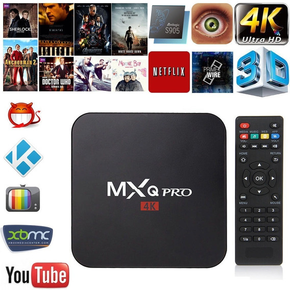 Tv Box Smart Tv Pro 5g 4k Android 9.0 4g + 32g Premium