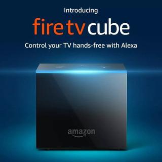 Fire Tv Cube Amazon. 4k Alexa Echo. Como Nuevo! 2018