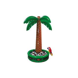 Amscan Perfect Hawaiian Luau Inflables Jumbo Palm Tree Coole