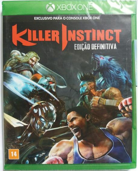 Jogo Xbox One Killer Instinct - Mídia Física - Novo Lacrado