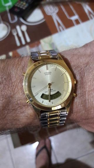 Relógio Citzen Dourado....