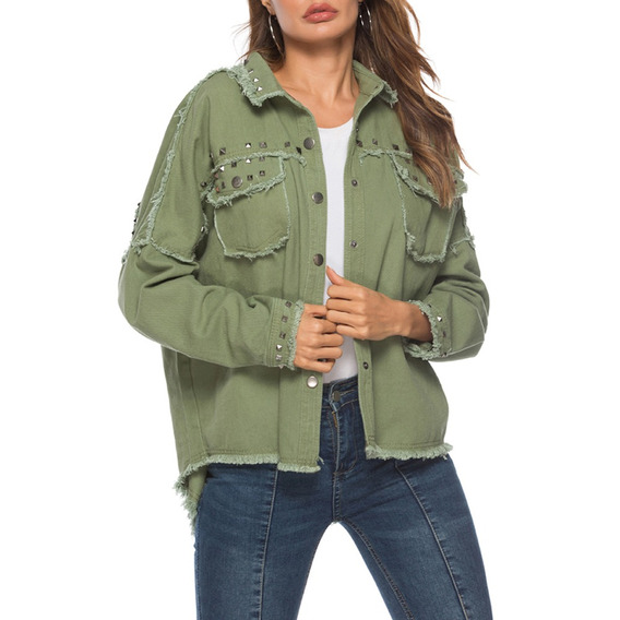 Women Jacket Coat Female With Pockets S-l
