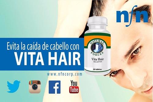 Vita Hair , Cuida Tu Cabello, Piel Y Uña - L a $67