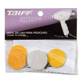 Refil De Lixa Taiff Para Pedicuro - 10 Und