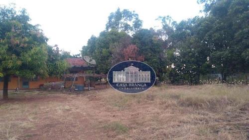 Chácara Residencial À Venda, Chácaras Arco-íris, Araçatuba. - Ch0044