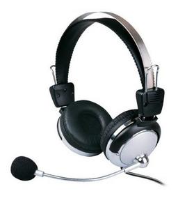2 Fone Ouvido Weile C/ Microfone Ajuste Volume P/ Pc
