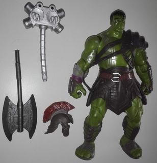 Hulk Ragnarok Articulado Armas/chaleco/casco 19 Cm X 11