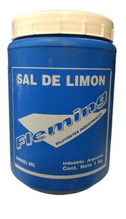 Sal De Limón En Polvo Fleming 1 Kg Blanqueador Maderas Mm
