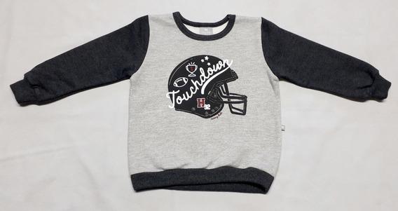 Blusão Bebê Em Moletom Peluciado Da Hering - Cód. 6663