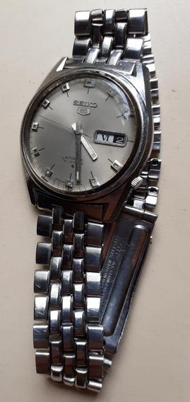 Relógio Seiko 5 6119 Antigo Março De 1971