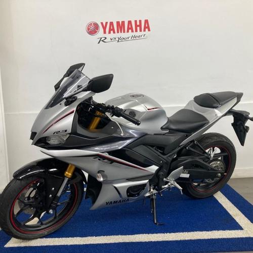 Yamaha Yzf R3 Prata 2021