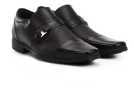 Sapato Masculino Napa Confort West Coast Preto 188402-1