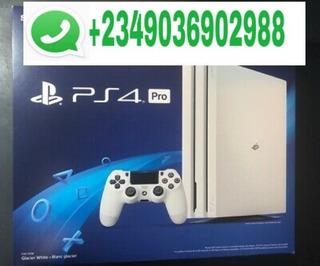 Sony Ps4 Pro 1tb Glacier White Edición Limitada Nuevo