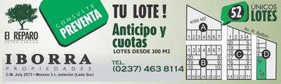 Lotes En Cuotas En General Rodriguez
