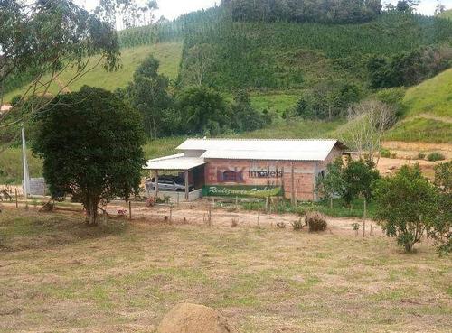 Imagem 1 de 12 de Chácara Com 2 Dormitórios À Venda, 3700 M² Por R$ 292.000,00 - Zona Rural - Natividade Da Serra/sp - Ch0823