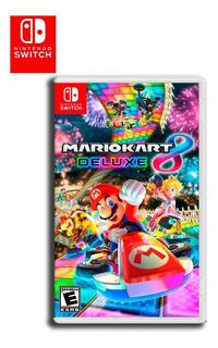 Mario Kart 8 Deluxe Nintendo Switch Disponible