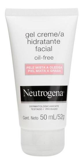 Gel Creme Hidratante Facial Neutrogena Oil Free Para Pele Mi