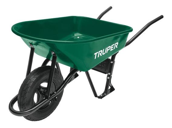 Carretilla Verde 5 Ft Reforzada Angosta Truper 11761