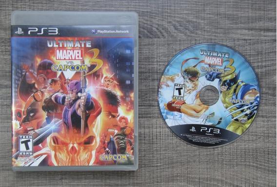 Ultimate Marvel Vs Capcom 3 Ps3 - Mídia Física Lkp