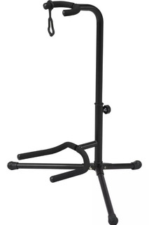Base Soporte Metalica Para Guitarra O Bajo Ajustable