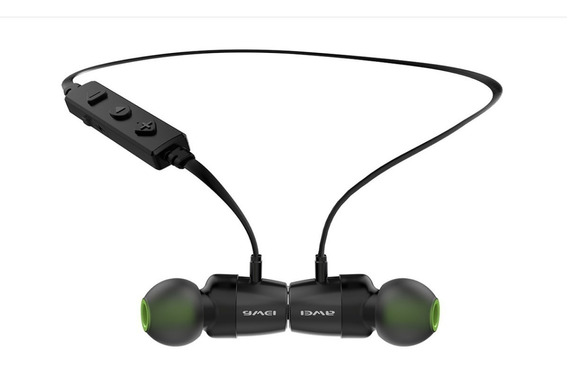 Fone De Ouvido Esportivo Bluetooth Intra Auricular Awei Wt30