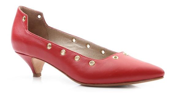 Zapatos Mujer De Cuero Vacuno Acordonado - Ferraro - Stones