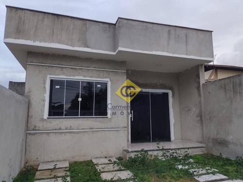 Excelente Casa Linear Independente Com 02 Quartos No Bairro Extensão Do Bosque Em Rio Das Ostras!! - Ca2073