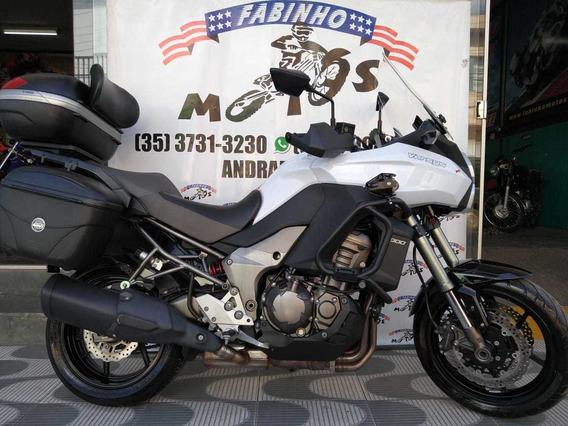 Kawasaki Versys 1000 Com Abs 2013 Branca Novíssima!!!