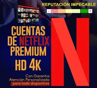Cuenta Netflix Origina| | Premium | Ultra Hd 4k (anticaida)