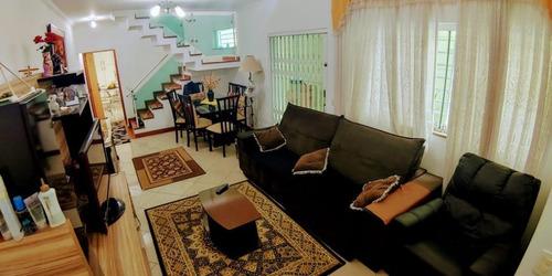 Sobrado Com 3 Dormitórios Sendo 3 Suítes E 3 Vagas À Venda, 175 M² Por R$ 890.000 - Santa Teresinha - São Paulo/sp - So2305