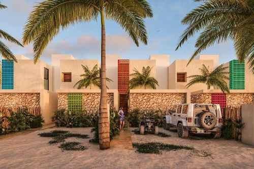 Hermoso Town House En Pre-venta Diez.cinco En Chicxulub Puerto