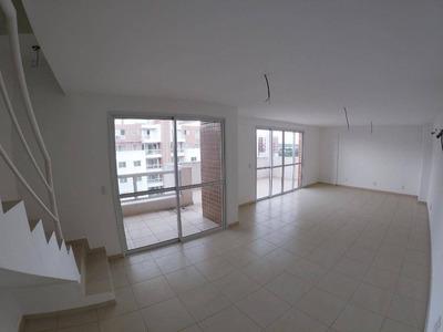 Apartamento Duplex Com 4 Dormitórios À Venda, 180 M² Por R$ 723.000 - Aleixo - Manaus/am - Ad0002