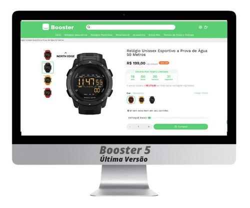 Imagem 1 de 1 de Tema Booster Shopify 5.1.4 Lançamento (última Versão)