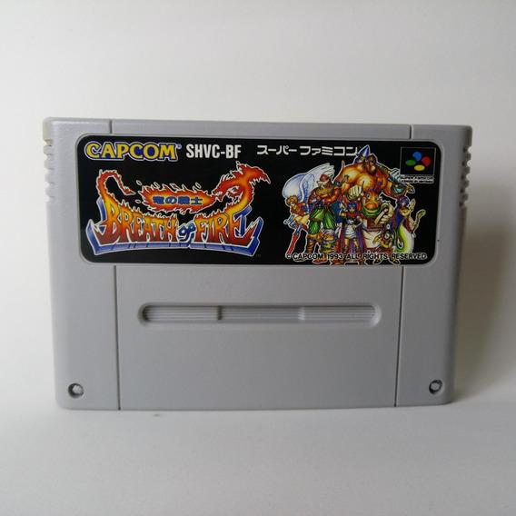 Breath Of Fire - Super Famicom Original Japonesa