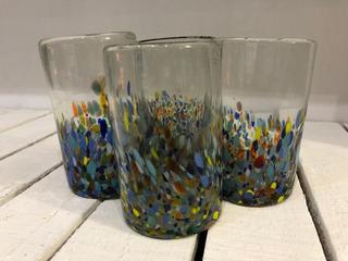 Vasos De Vidrio Soplado