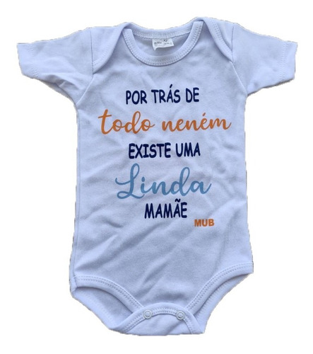 Body Infantil Canelado Divertido