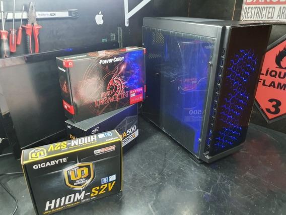 Pc Gamer Intel Core I5 7400t 8gb Rx570 Ddr4 Ssd 480