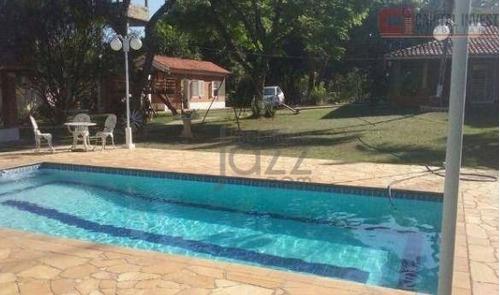 Chácara Com 2 Dormitórios À Venda, 4880 M² Por R$ 795.000,00 - Recreio Tsuriba - Campinas/sp - Ch0054