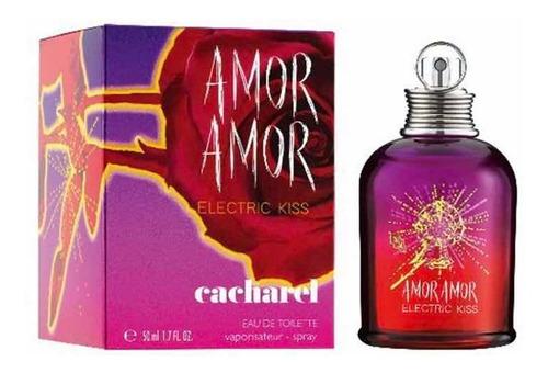 Imagen 1 de 2 de Amor Amor Electric  Kiss Cacharel 50 Ml Edt Sello Asimco