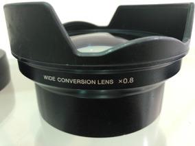 Lente Grande Angular Pra Câmera Pmw Ex3 E Ex1 Sony